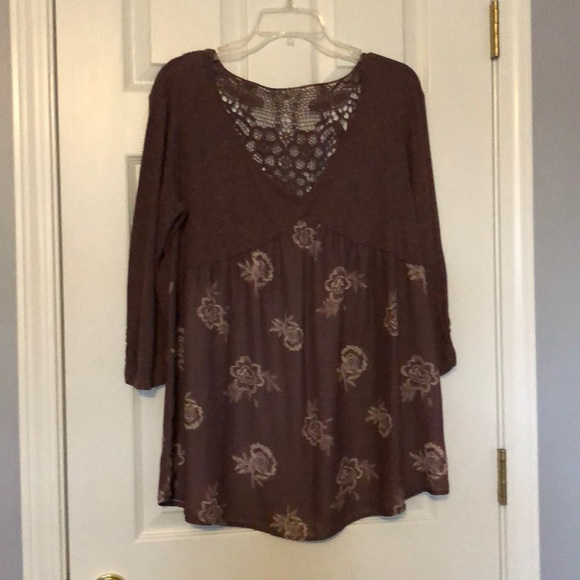 Maurices Tops - Maurice's flowy top with lace back